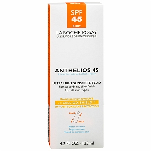 La Roche Posay Anthelios 45 Ultra Light Sunscreen Fluid